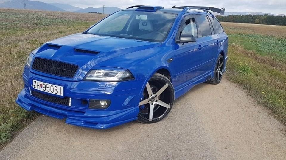 Tuningová Škoda Octavia ze Slovenska 10