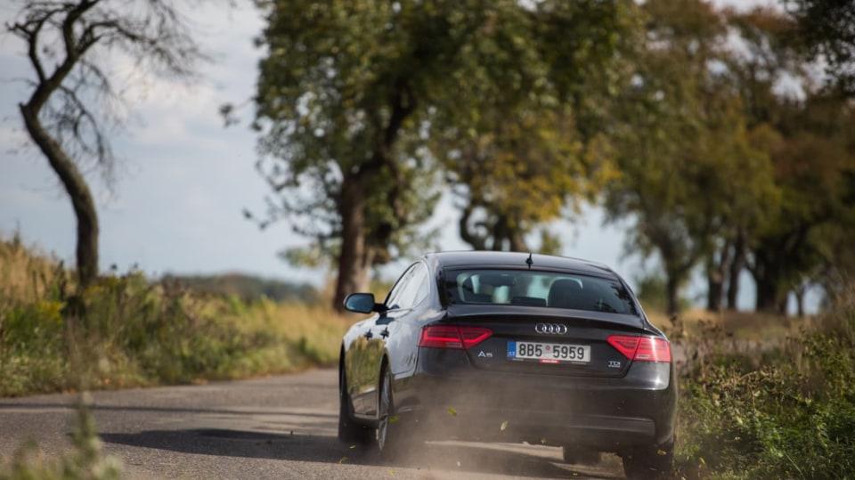 Audi A5 Sportback 2.0 TDI jízda 8