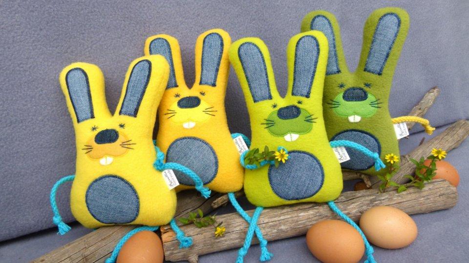 Velikonoční plyšový zajíc pro děti