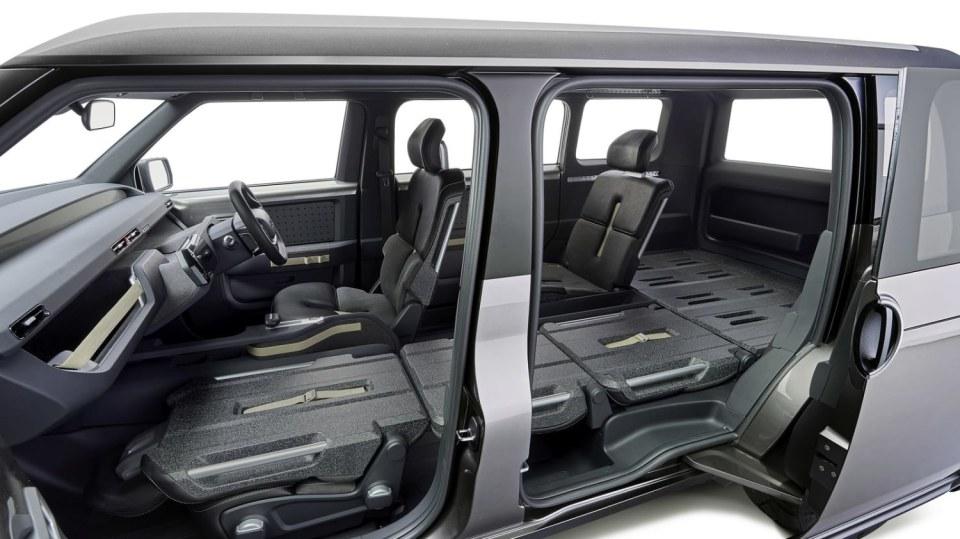 Dodávka i SUV. Toyota Tj Cruiser Concept. 6