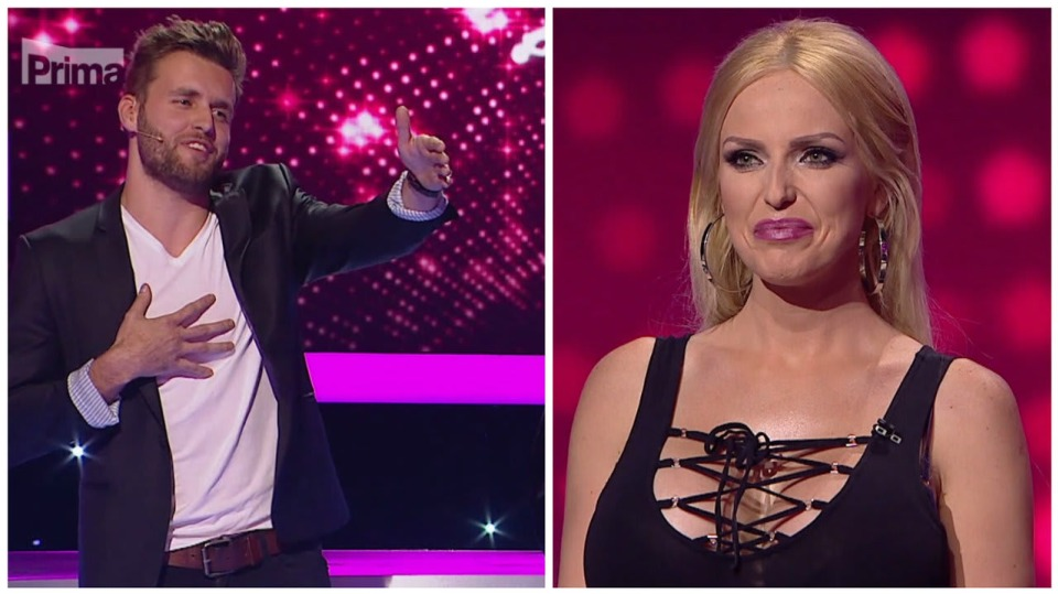 Drsná hádka v Take Me Out.