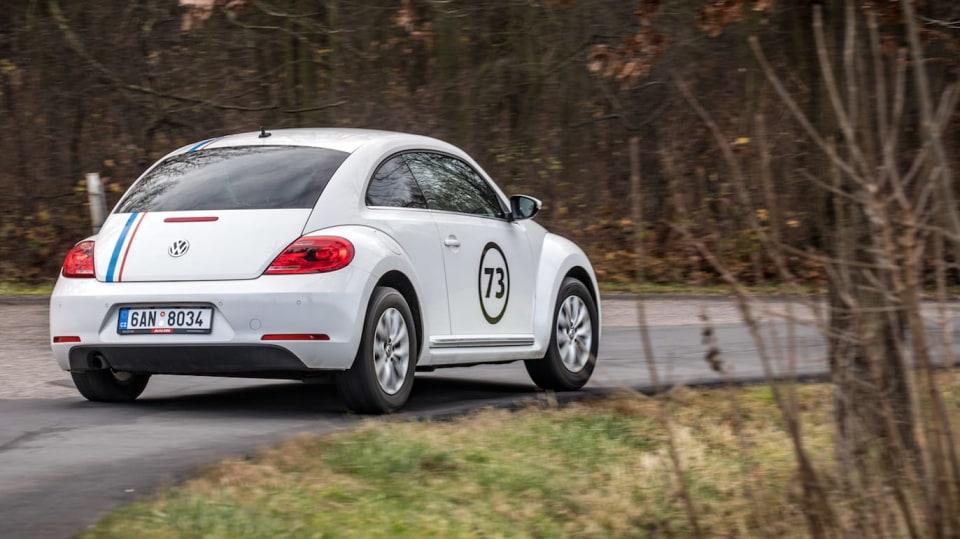 Volkswagen Beetle 1.2 TSI jízda 9