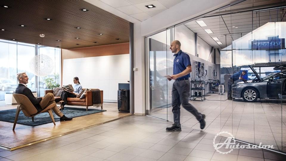Revoluce v servisech Volvo - nechte se hýčkat 4