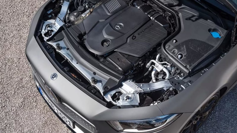 Mercedes-Benz CLS 2018 únik 6