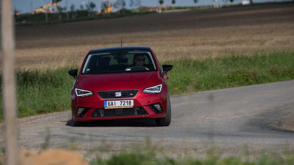 SEAT Ibiza FR 1.0 TSI jízda 9