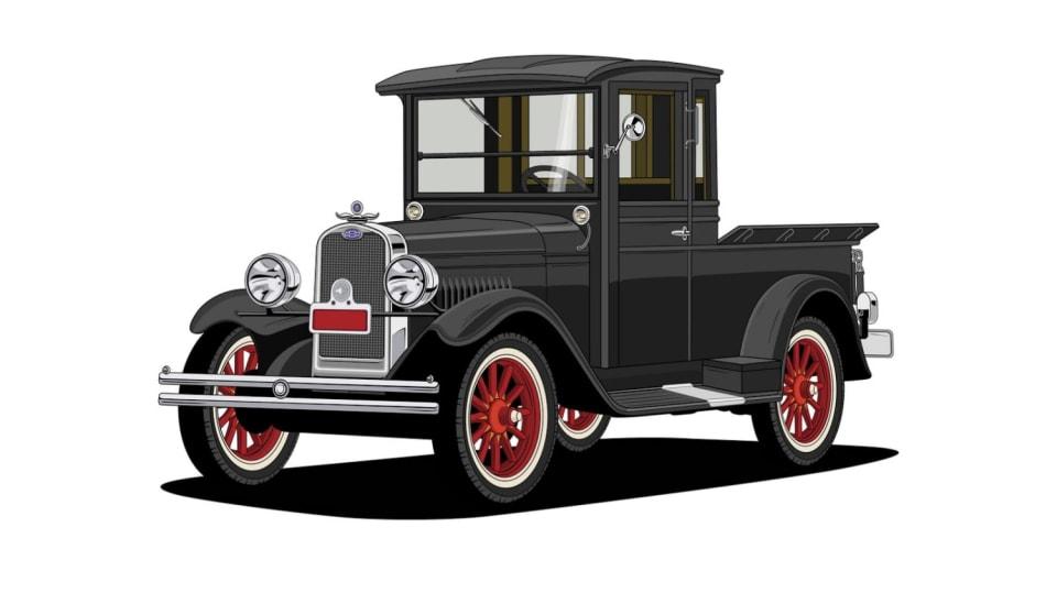Historie pickupů od Chevroletu. 3