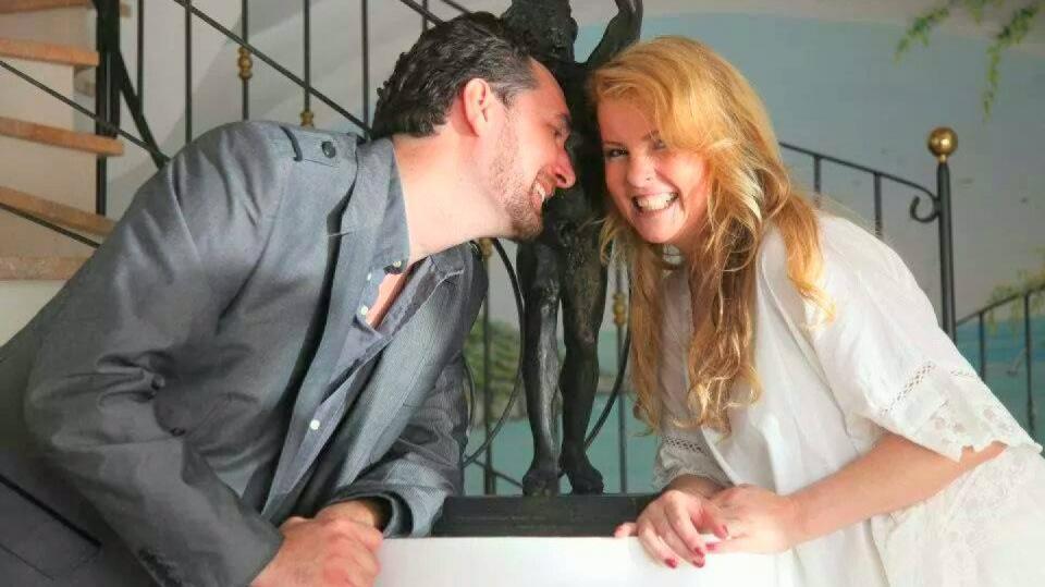 Iveta a Domenico byli krásný pár