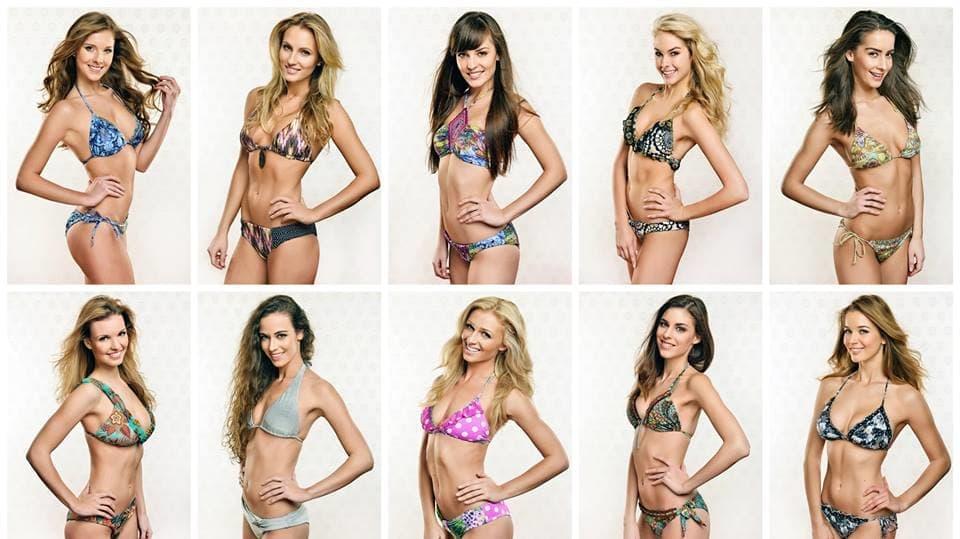 Finalistky České Miss 2014:The Best of Foto