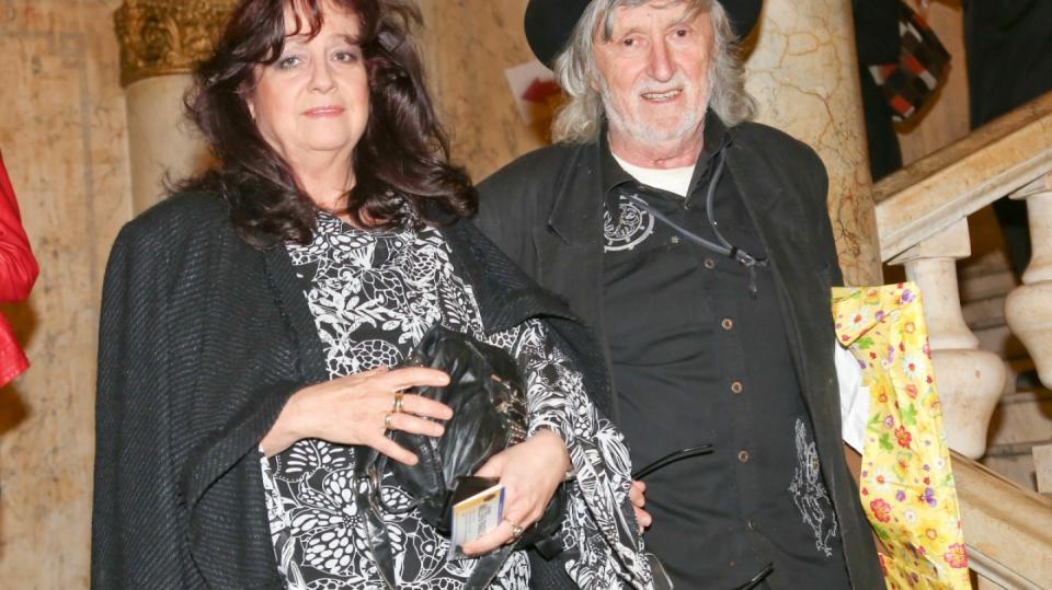 Herečka a producentka Deana Horváthová-Jakubisková s manželem Jurajem