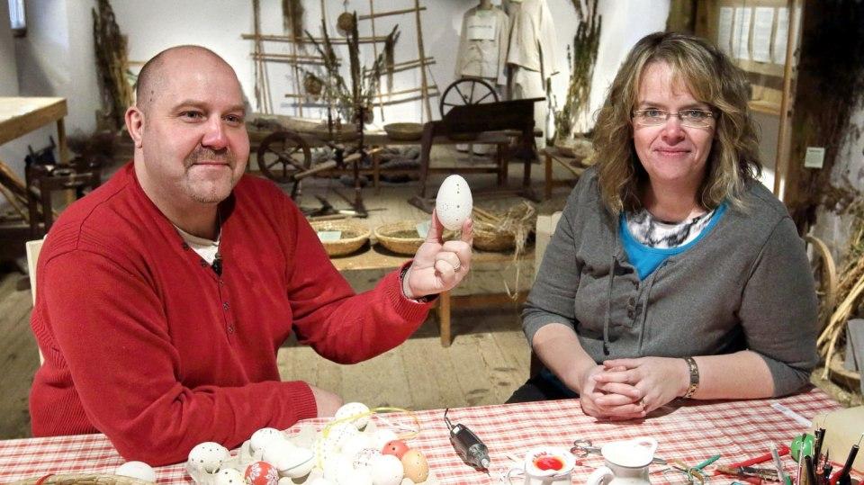 Jak si vyrobit madeirové čili vrtané kraslice 1