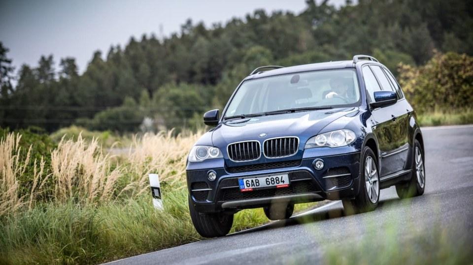 BMW X5 xDrive30d jízda 13
