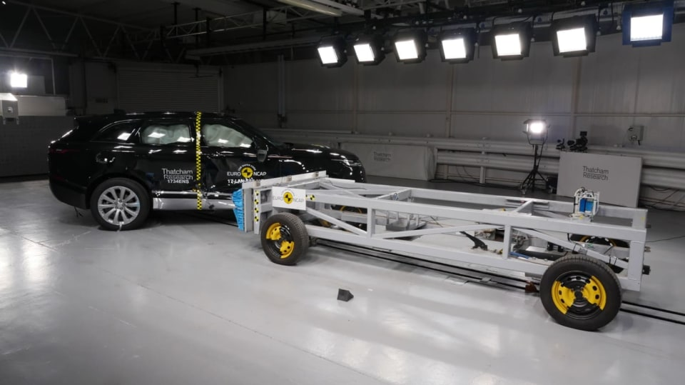 Range Rover Velar Euro NCAP 6