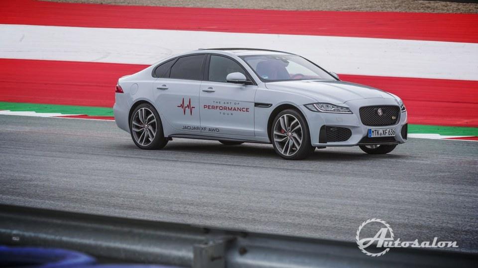 Jaguar - palba na okruhu 7