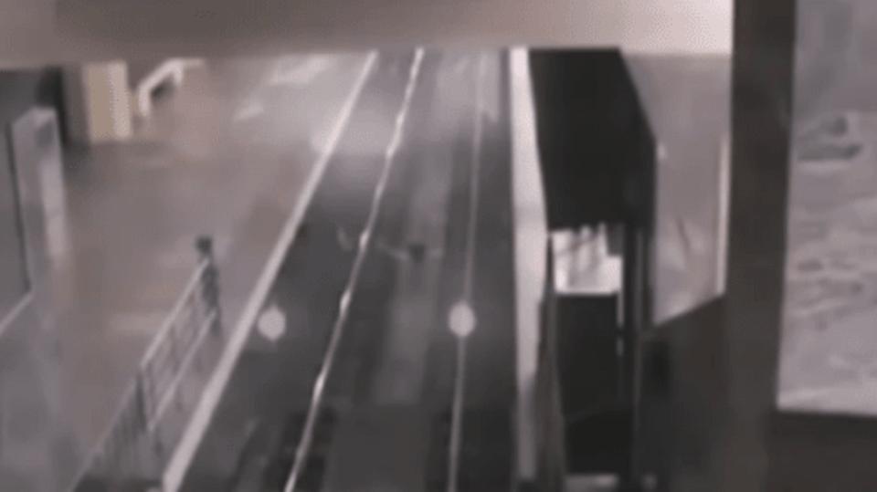 Ve stanici zastavil vlak duchů