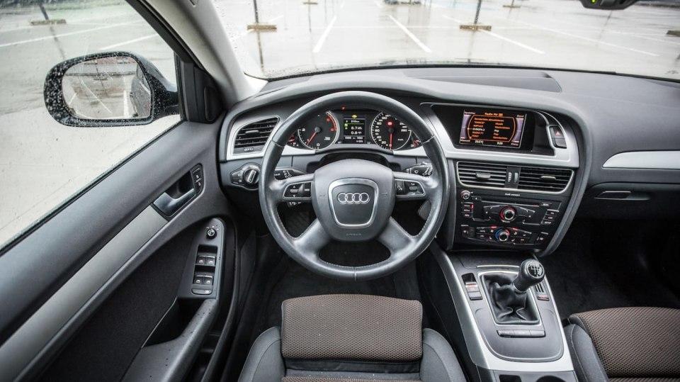Audi A4 Allroad 2.0 TDI CR interiér 6