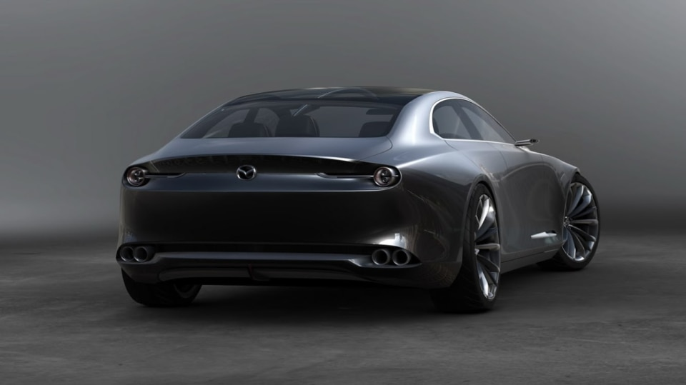 Mazda Vision Coupe 10