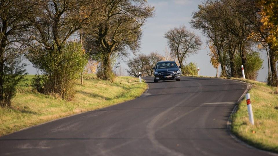 Mercedes-Benz E 220 CDI jízda 7