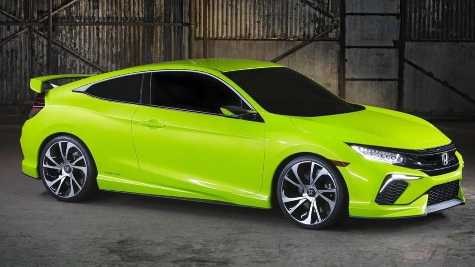 Honda Civic Coupe Concept - Obrázek 3
