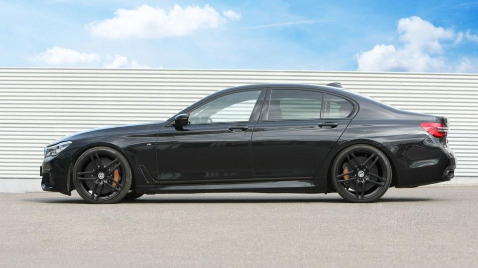 BMW 750d G-Power 3