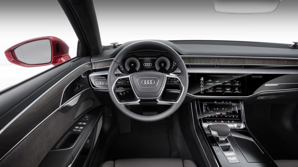 Vlajková loď Audi odhalena. Nová A8 6