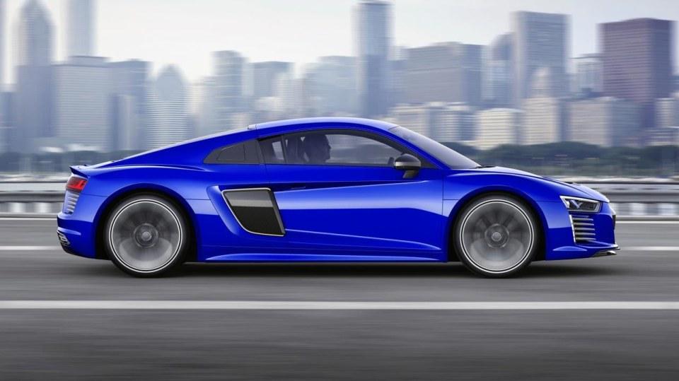 Audi R8 e-tron piloted driving concept  - Obrázek 1