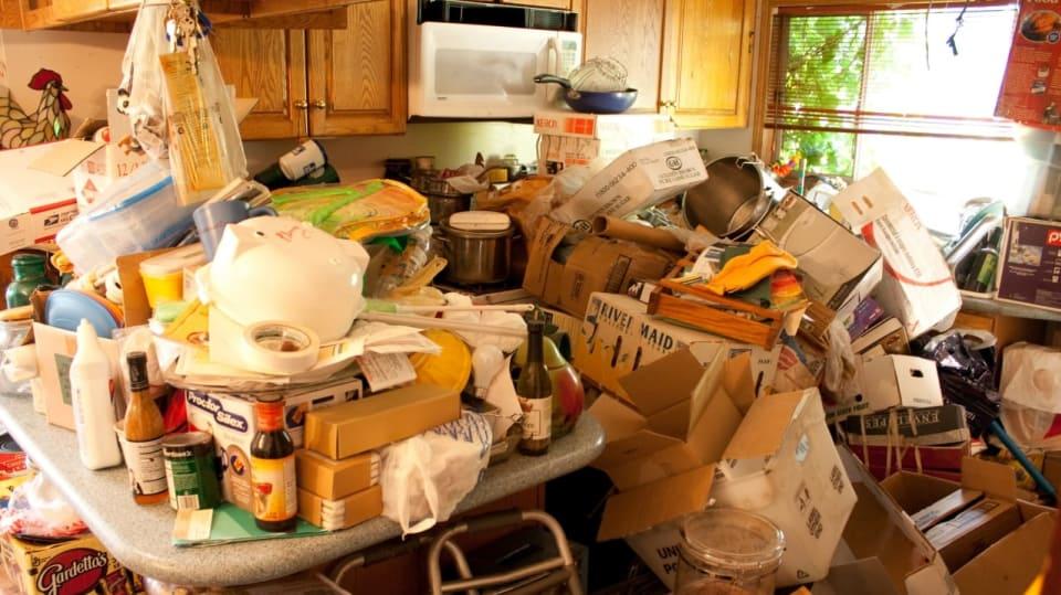 Po krk v odpadcích