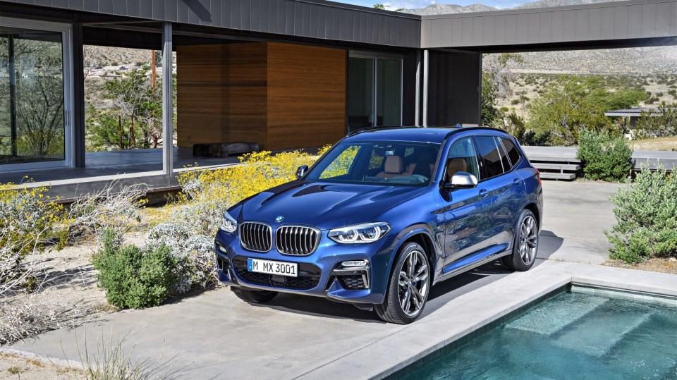 Nové BMW X3 6