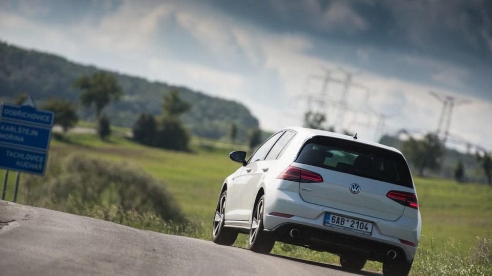 Volkswagen Golf GTI jízda 10