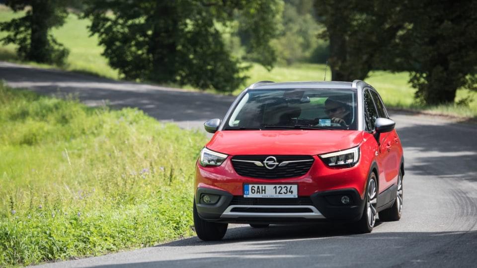 Opel Crossland X jízda 14