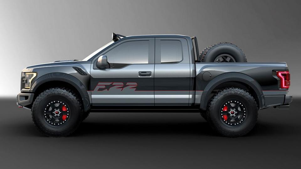 Ford postavil extrémní Raptor inspirovaný neviditelnou stíhačkou 1