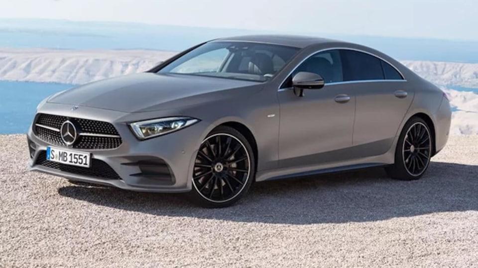Mercedes-Benz CLS 2018 únik 1