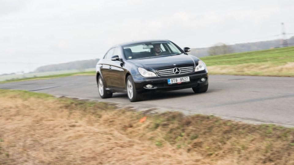 Mercedes-Benz CLS 320 CDI jízda 11