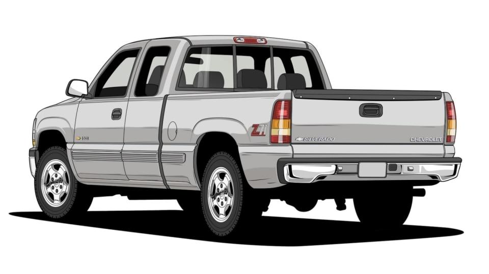 Historie pickupů od Chevroletu. 18