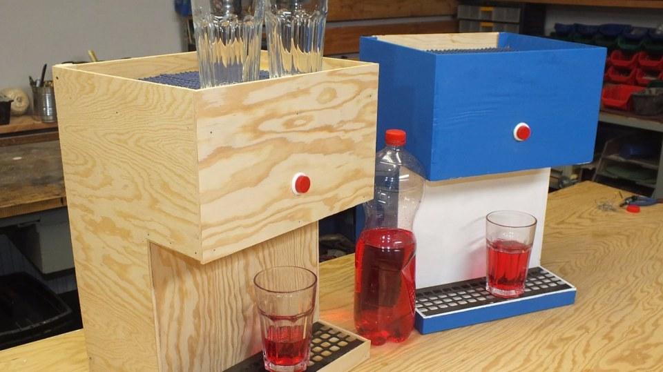 Domácí pípa neboli nápojový automat pro děti