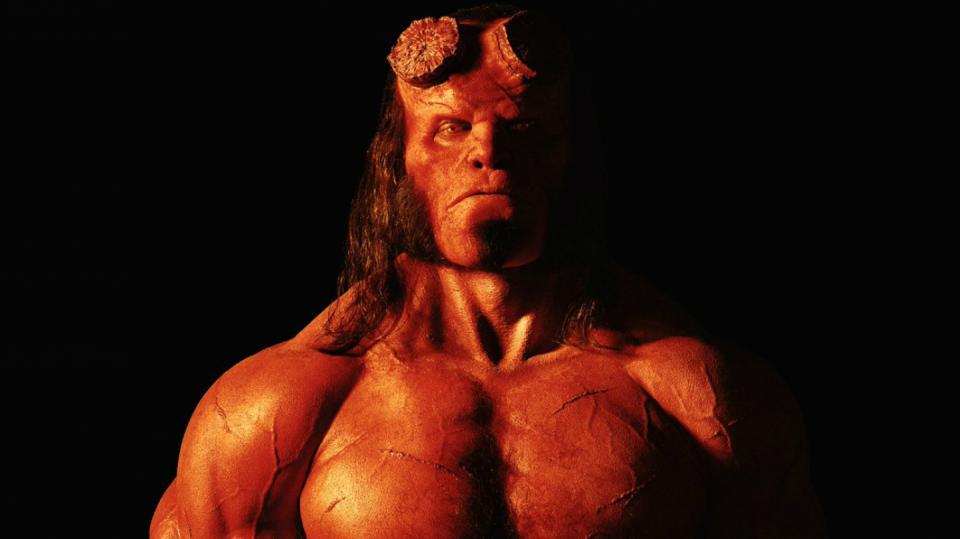 Takhle bude vypadat nový Hellboy s tváří Davida Harboura