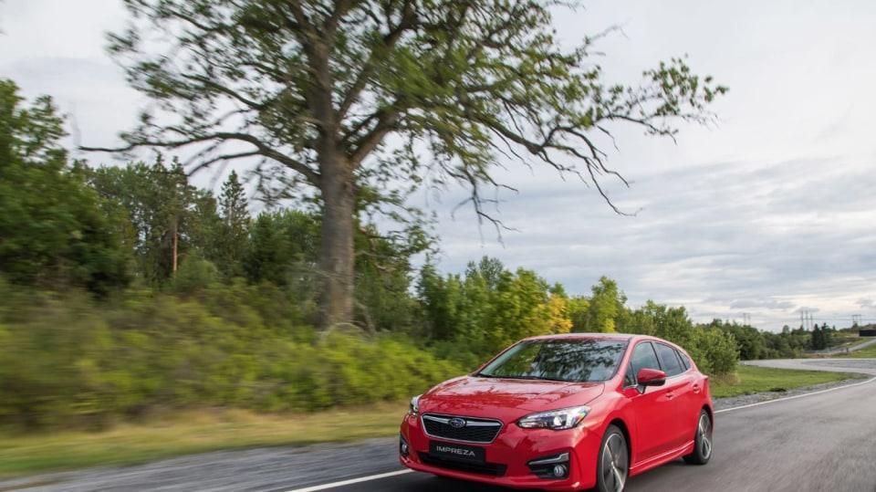 Nové Subaru Impreza vyniká skvělým podvozkem. 7