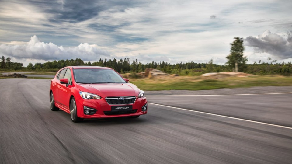 Nové Subaru Impreza vyniká skvělým podvozkem. 3