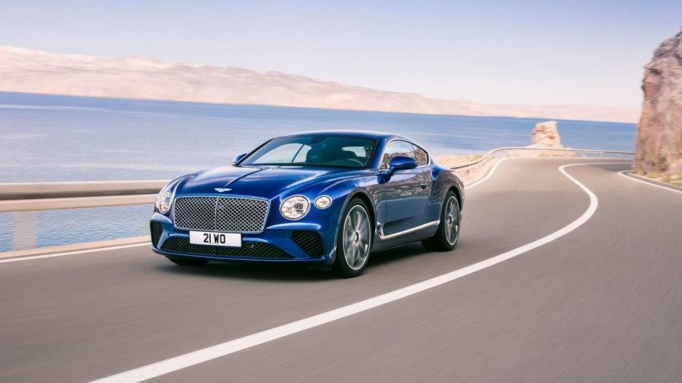 Bentley odhalilo nový Continental GT, vládce luxusních kupé. 10