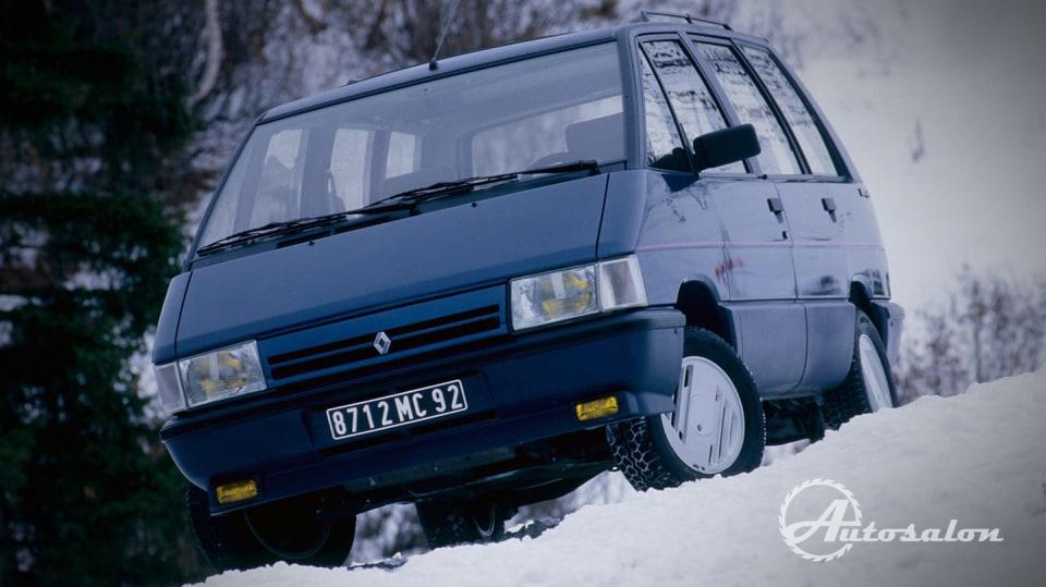 Renault Espace první generace Quadra AWD