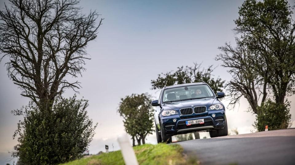 BMW X5 xDrive30d jízda 5