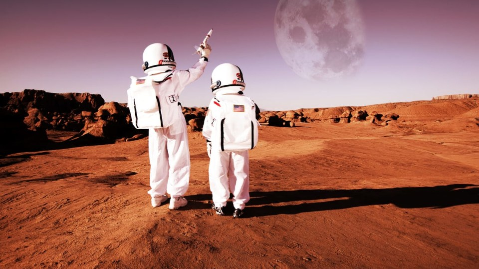 Je voda na Marsu?