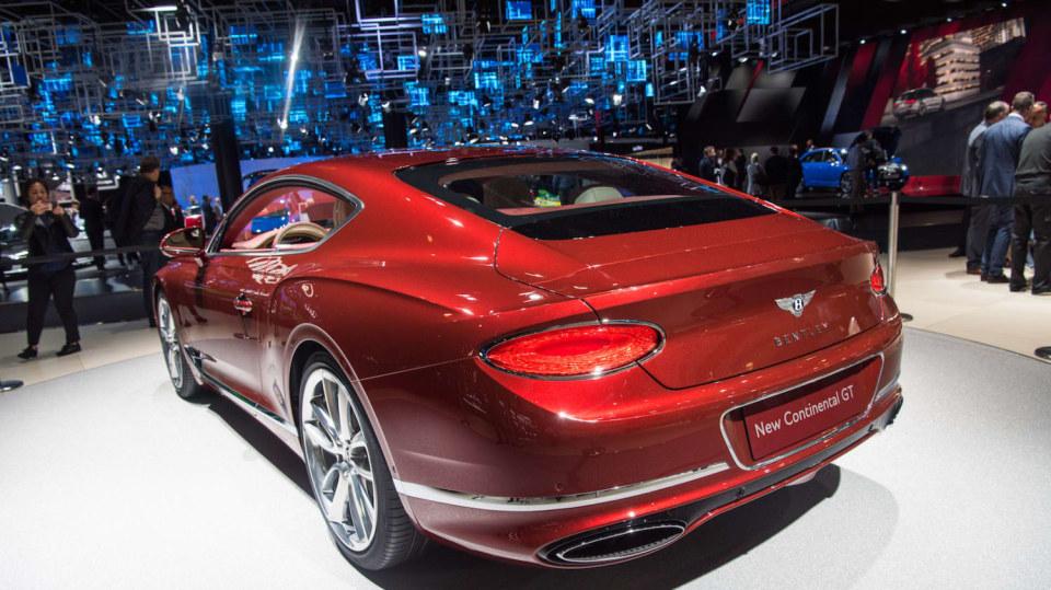 Bentley Continental GT 2018 3