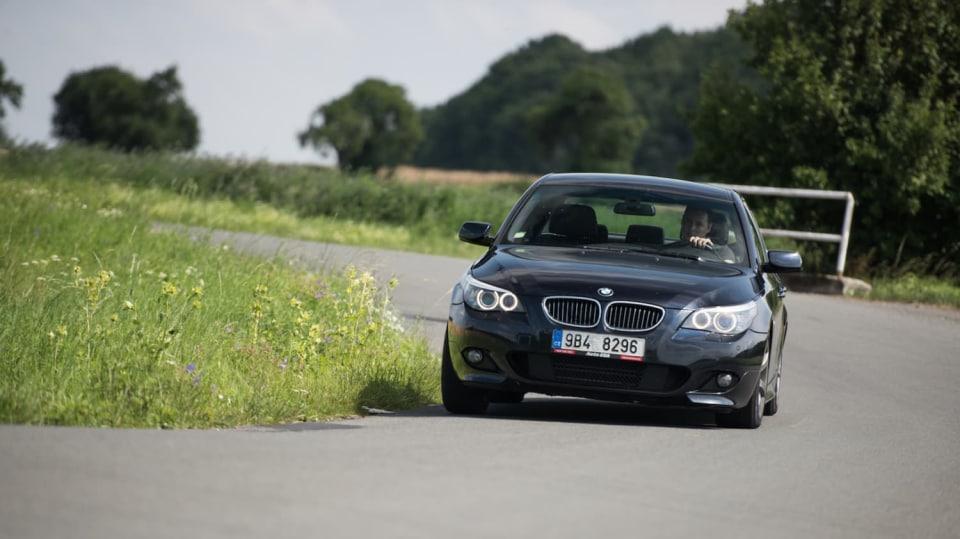 BMW 530i E60 jízda 19