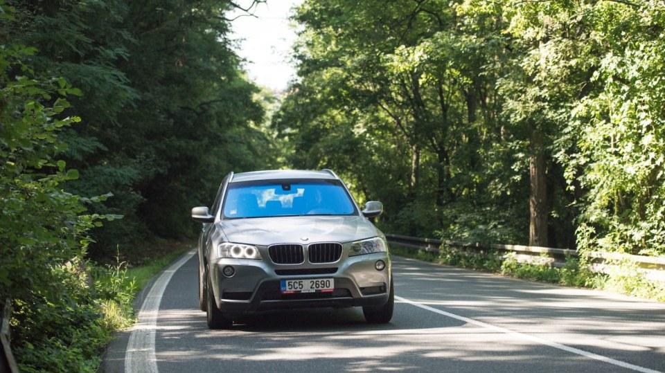 BMW X3 xDrive20d jízda 13
