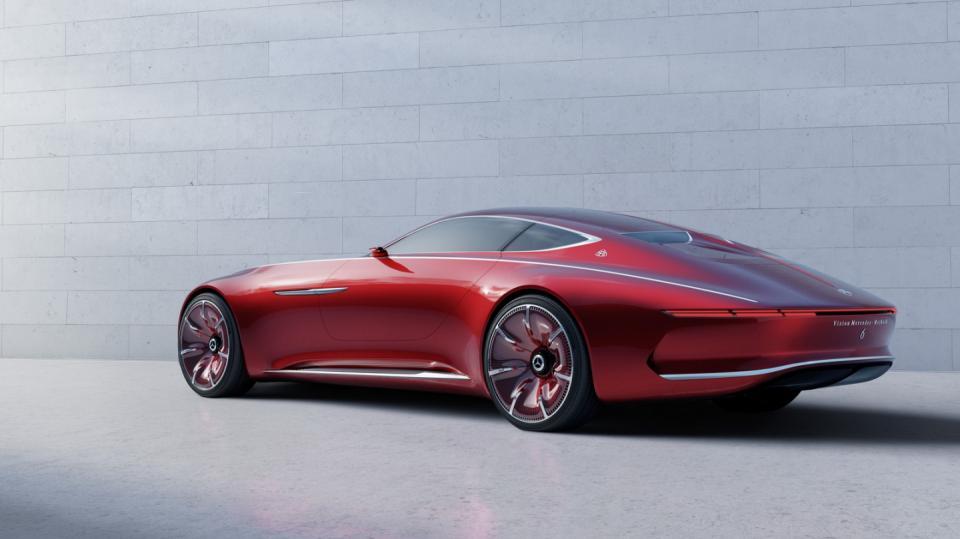 Působivý koncept Mercedes-Maybach Vision 6.