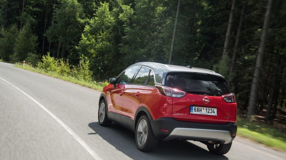 Opel Crossland X jízda 10