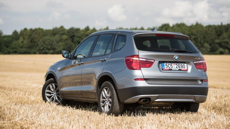 BMW X3 xDrive20d exteriér 8