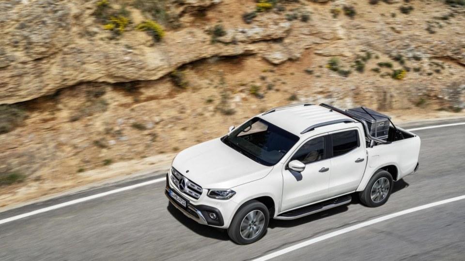 Mercedes-Benz třídy X 2