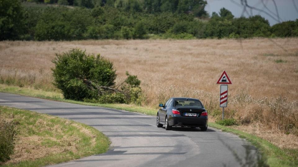 BMW 530i E60 jízda 9
