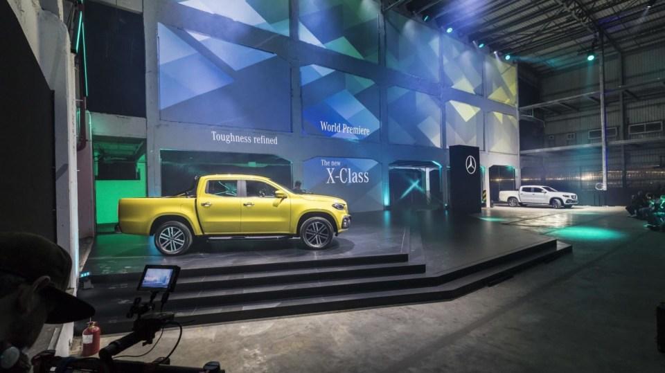Mercedes třídy X yellow 11